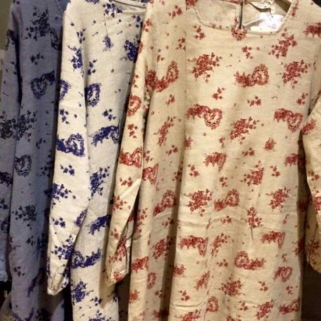 二手Sm2法國布料洋裝