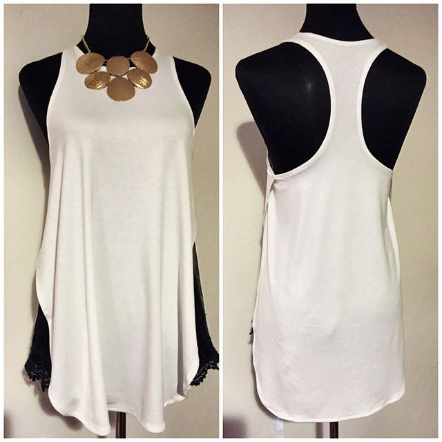 Summer Trendy 2in1 Top!