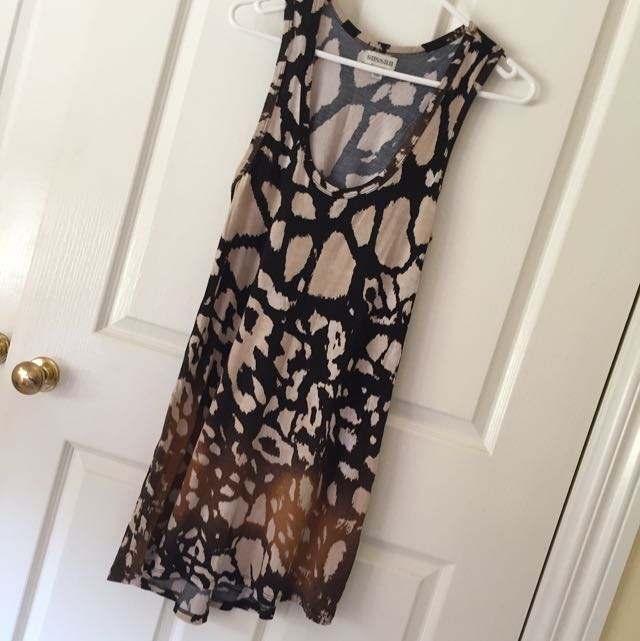 'Sussan' Leopard Dress