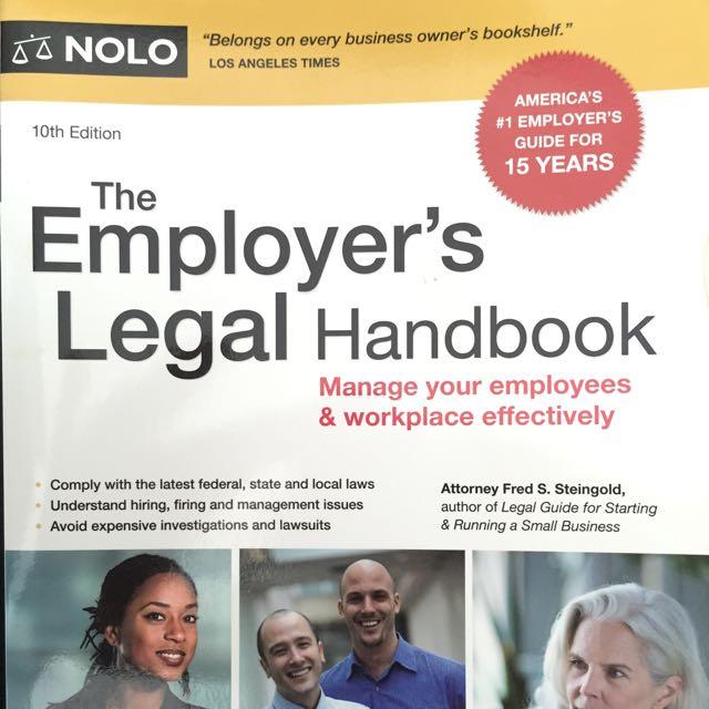 The Employers Legal Handbook