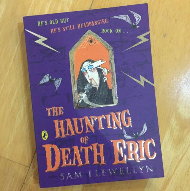 The Haunting Of Death Eric by Sam Llewellyn