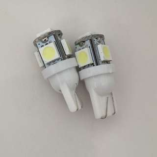*INSTOCK - T10 Led Bulb White For Position, Interior & Number Plate