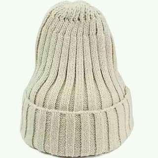 出清!! 純色毛帽