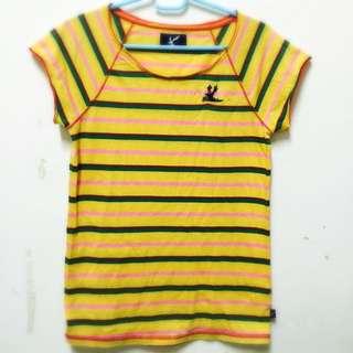 🌞Bluedeer 黃色條紋T