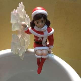 雪花款❄️杯緣子 聖誕杯緣子 扭蛋