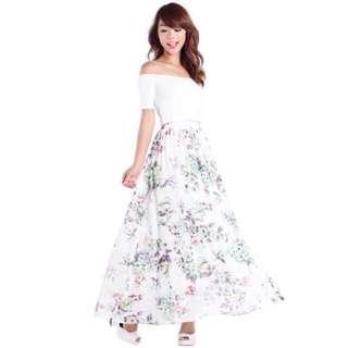 The Tinsel Rack Magnolia Maxi Skirt