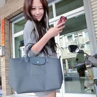 Longchamp Neo款 石墨灰 尺寸S/m