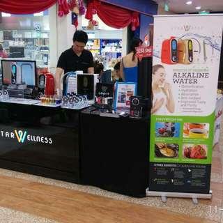 Starwellness Alkaline Water Ionizer Hougang Kangkar Mall Roadshow