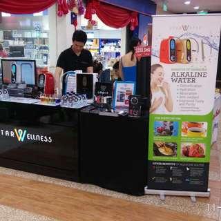 Starwellness Alkaline Water Ionizer Roadshow Hougang Kangkar Mall