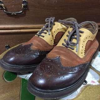 雕花牛津鞋