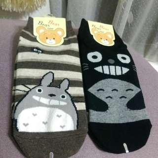 韓國進口 龍貓棉襪
