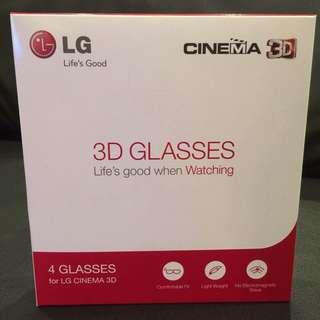 LG 3D TV Glasses AG-F310