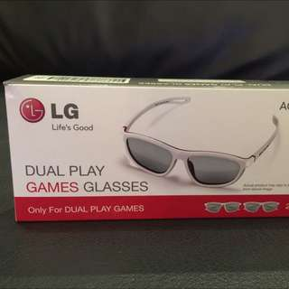 LG 3D TV Dual Play Glasses
