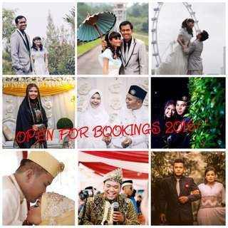 Wedding photography Service.