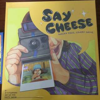 [全新]Say Cheese派對遊戲