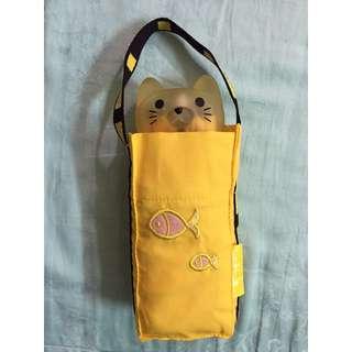 全新_日本UVoutex_貓咪五段式雨傘