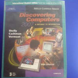 Discovering Computers - A Gateway To Information 2007