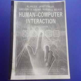 Human-Computer Interaction (3rd Edition) By Alan Dix, Janet Finlay, Gregory D. Abowd And Russell Beale