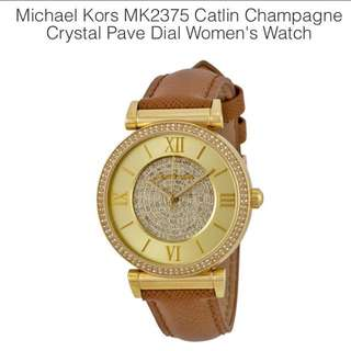 $198 FAST DEAL ! Authentic Micheal Kors Watch #MK 2375