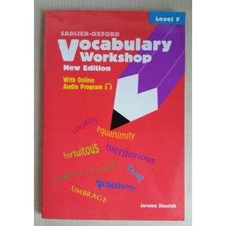 Sadlier-Oxford Vocabulary Workshop Level F (New Ed.)