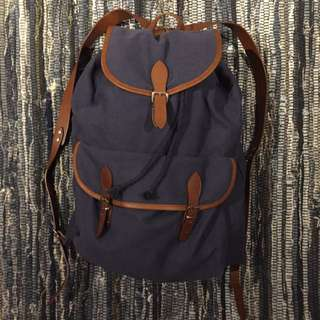 A.P.C. Blue Backpack 100% Authentic
