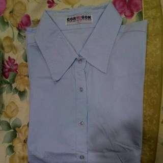 氣質淺藍襯衫