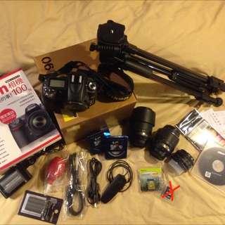 經典Nikon D90,大全配!
