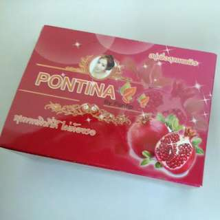 Pontina  泰國 紅寶石超潤白體膜皂