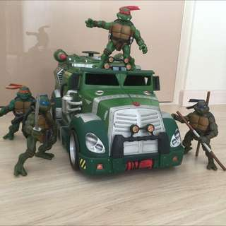 (Reserved) Teenage Mutant Ninja Turtles 2003 With Battle Shell Collection