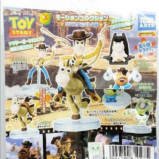 (待匯款)T-ARTS 玩具總動員 西部牛仔篇 扭蛋 轉蛋 全5種
