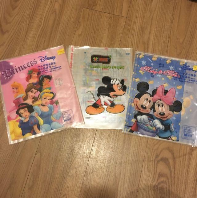迪士尼公主/米奇書套