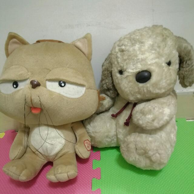 貓 狗 娃娃 布偶