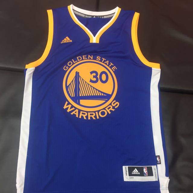 Adidas Curry 客場藍 30 球衣