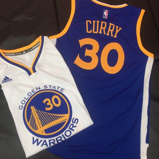 Adidas Curry 勇士 咖哩 30主客場 球衣