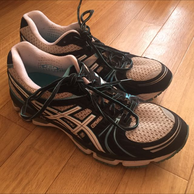 best sneakers 24a41 f46d3 Asics Gel Kayano 18 Running Shoes Sneakers Joggers Size 9.5 AU ...