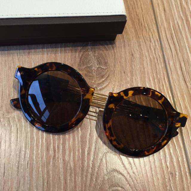 asos玳瑁色太陽眼鏡