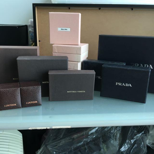 fe8e3725297f authentic boxes (bottega veneta