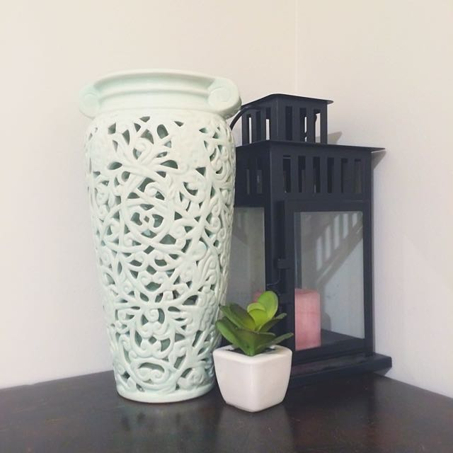 Beautiful Pale Blue Vase