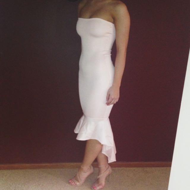 Custom Made Strapless Dress