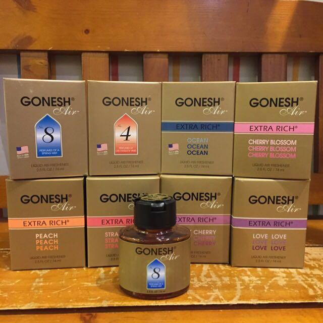 GONESH空氣液體芳香罐74ml-8號丶4號丶海洋…