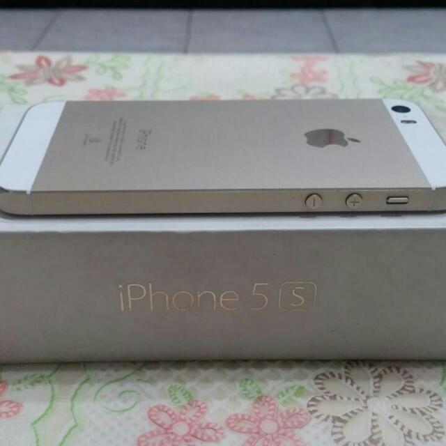 (保留中)IPhone 5S 16g 金