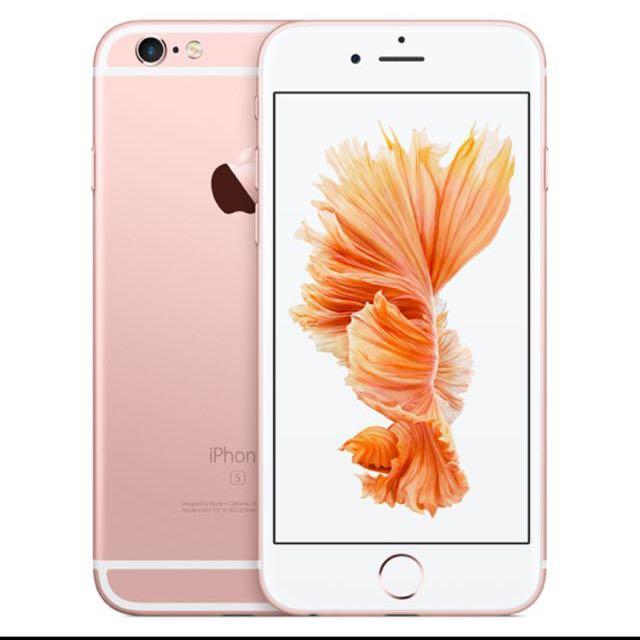iPhone 6s玫瑰金 64g