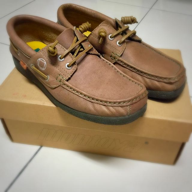 Montoya男帆船鞋