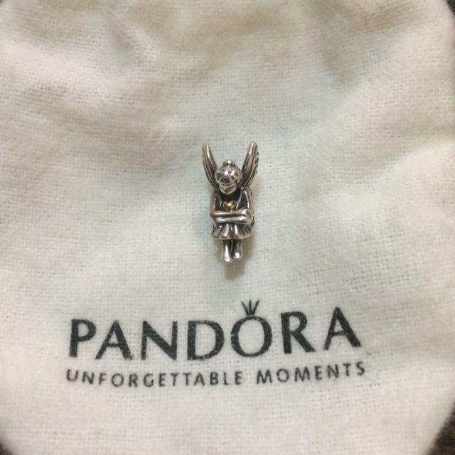 Pandora 含金天使串飾