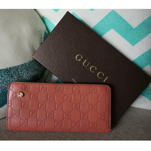 Preloved Authentic Gucci Ladies Wallet