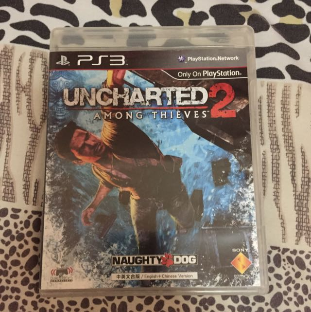 PS3 Video Game(UNCHARTED 2)