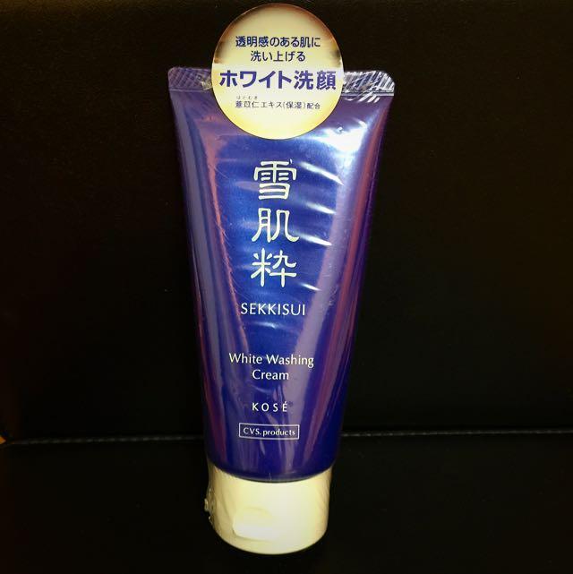 雪肌粹SEKKISUI洗面乳(KOSE)