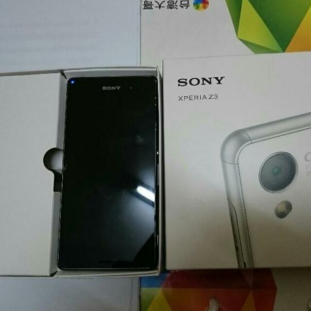 (待匯 以售出)Sony Z3 手機 二手