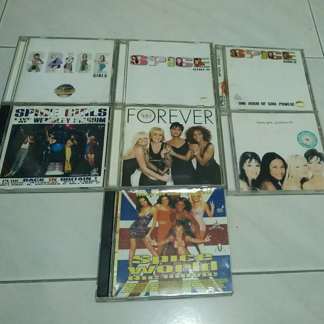 Spice Girls Albums And Video CD Collection