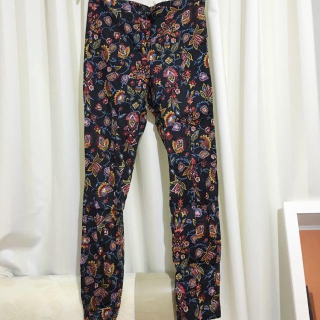 TOPSHOP Flowers pants